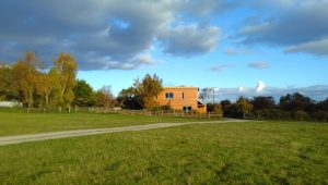 New-build passivhaus, Herefordshire
